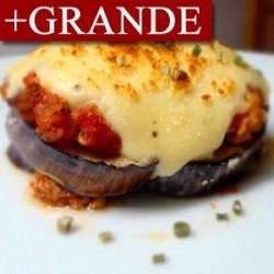 Berenjenas Gratinadas al Parmesano GRANDES