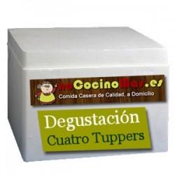 Pack Degustación de Tuppers