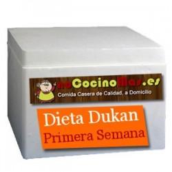 Dieta Dukan Primera Semana