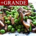 Jardinera de Champiñones, Guisantes y Jamón +GRANDE