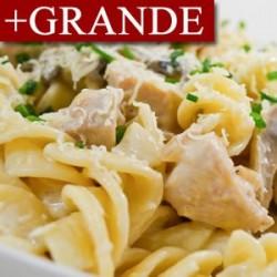 Pollo al Ajillo con Pasta +GRANDE