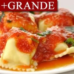 Ravioli de Carne con Salsa de Piquillo +GRANDE