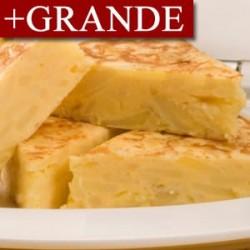 Tortilla de Patatas y Cebolla +GRANDE