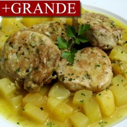 Lomo al Ajillo con Patatas +GRANDE