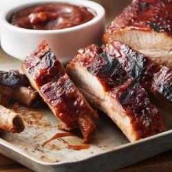 Costillas de Cerdo BBQ con Salsa Jack Daniels