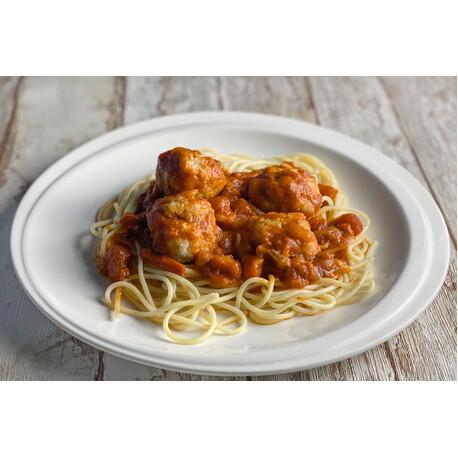 Albóndigas de Pollo con Pasta +GRANDE