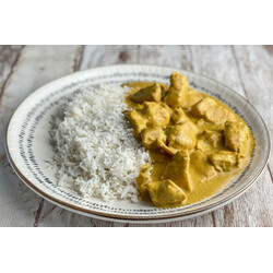 Pollo al Curry con Arroz GRANDE
