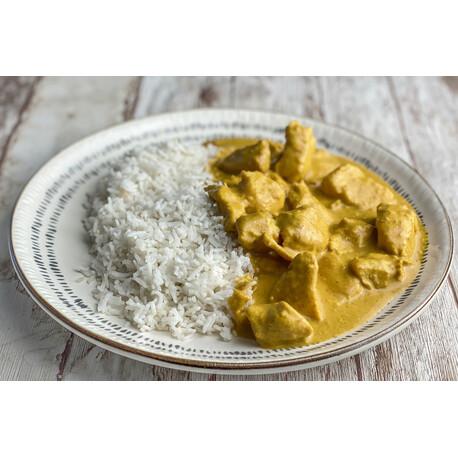 Pollo al Curry con Arroz +GRANDE