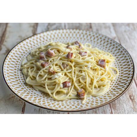 Espaguetis a la Carbonara +GRANDE