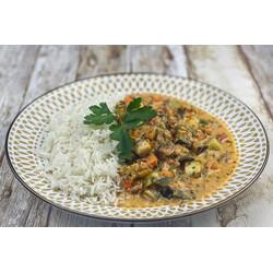 Curry Rojo de Verduras